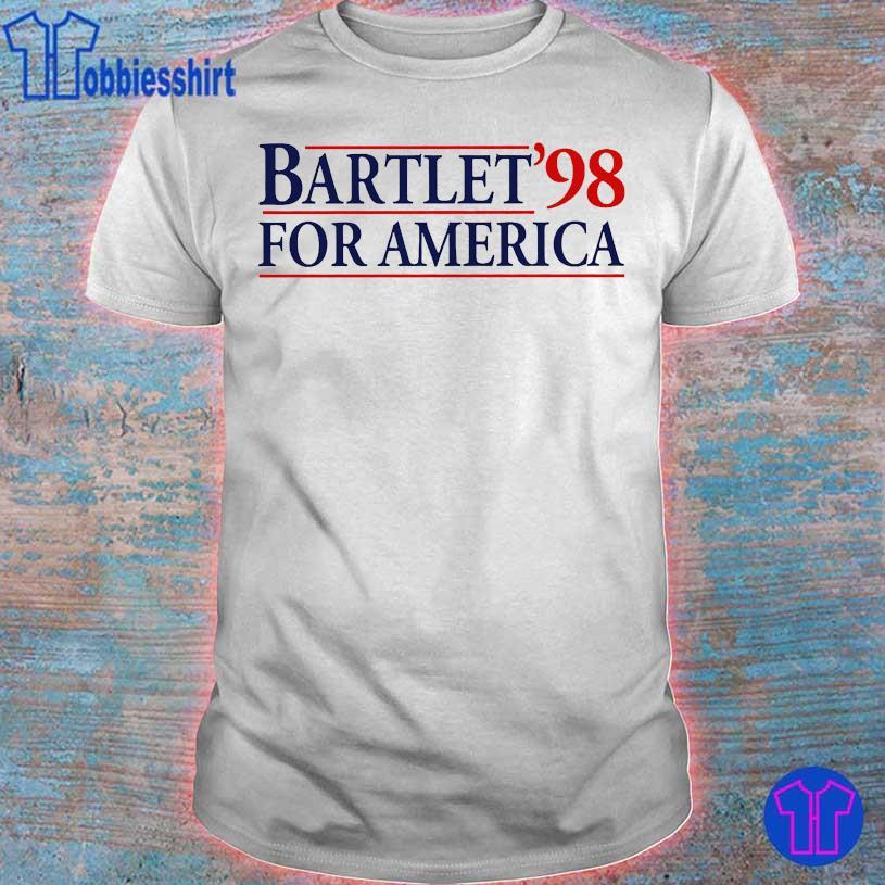 Bartlet'98 for America shirt
