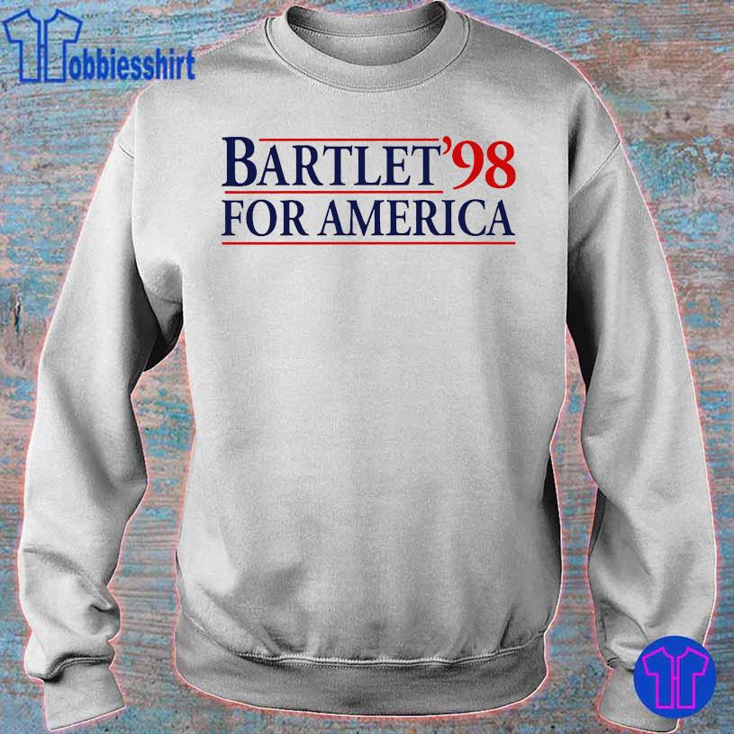 Bartlet'98 for America s sweater