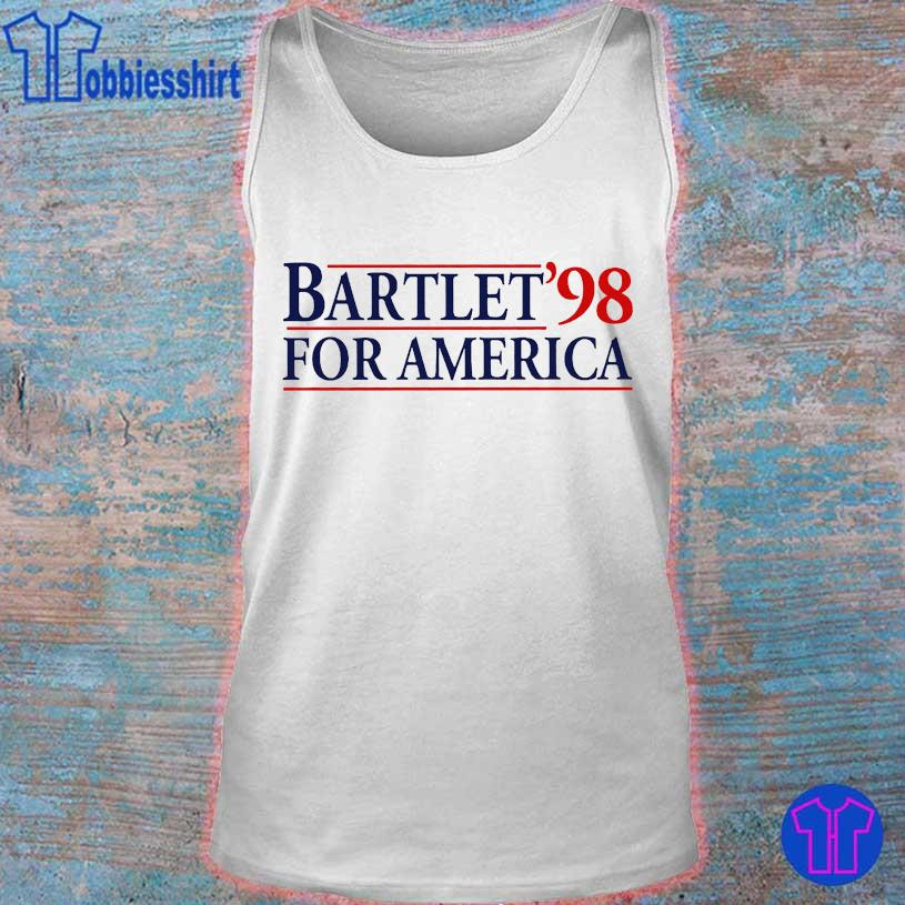 Bartlet'98 for America s tank top