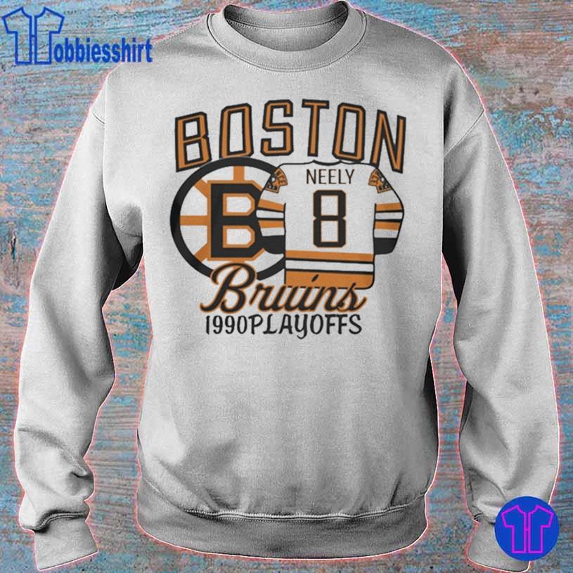 Boston Bruins 1990s Playoffs Neely 8 Shirt sweater