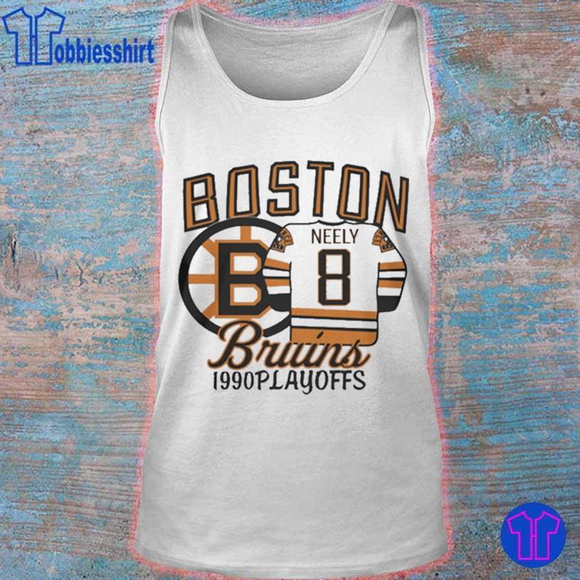 Boston Bruins 1990s Playoffs Neely 8 Shirt tank top