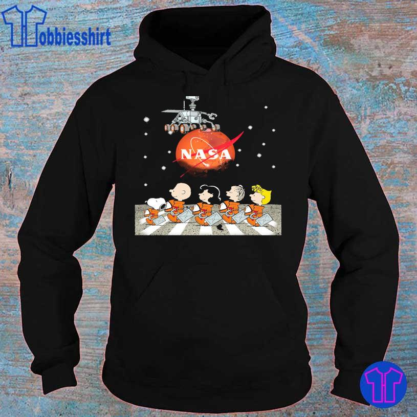 Official 2021 Peanuts Nasa Abbey Road s hoodie