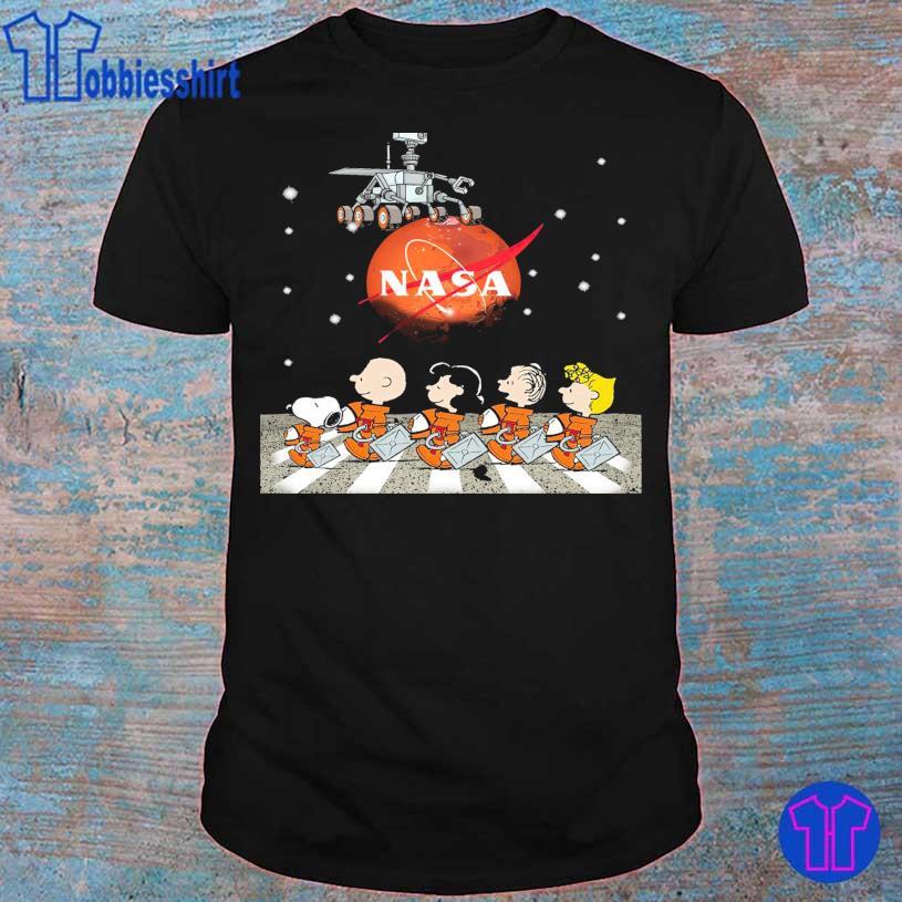 Official 2021 Peanuts Nasa Abbey Road shirt