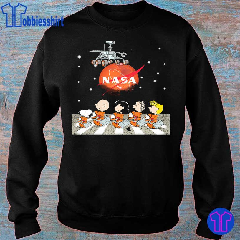 Official 2021 Peanuts Nasa Abbey Road s sweater
