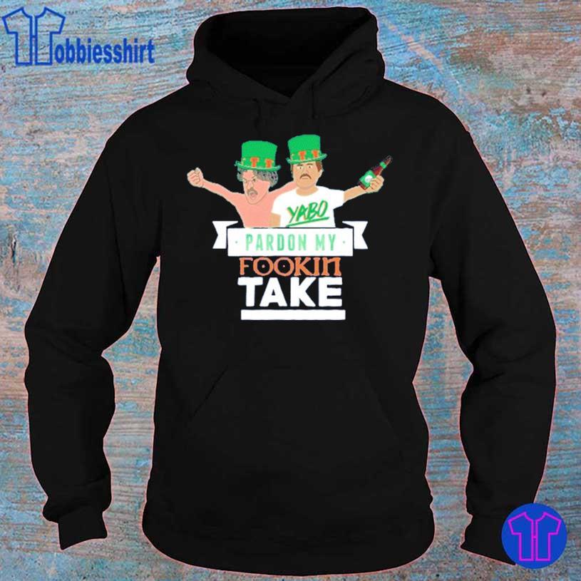 Pardon My Take St Patricks Day Tie Dye Shirt hoodie