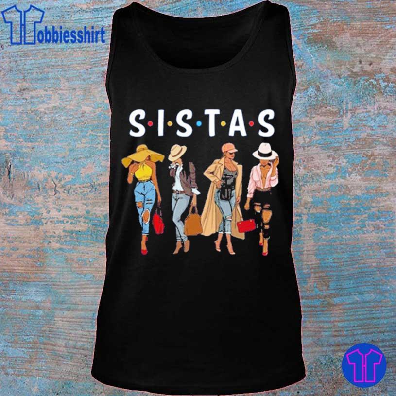 Sistas Afro Women Together Shirt tank top