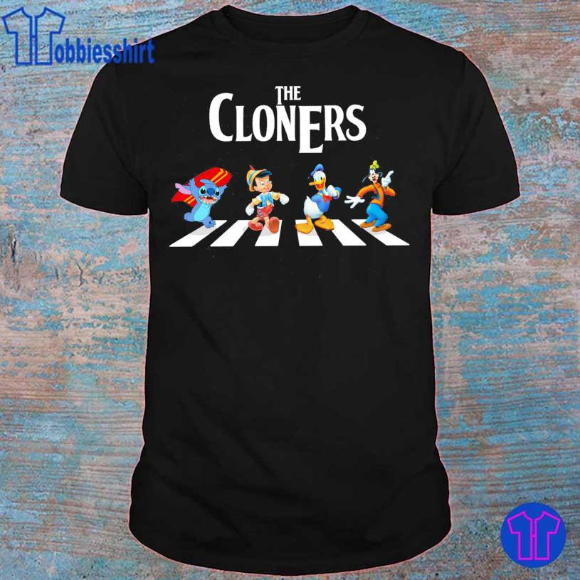 The Cloners Stitch and Disney Abbey Road shirt