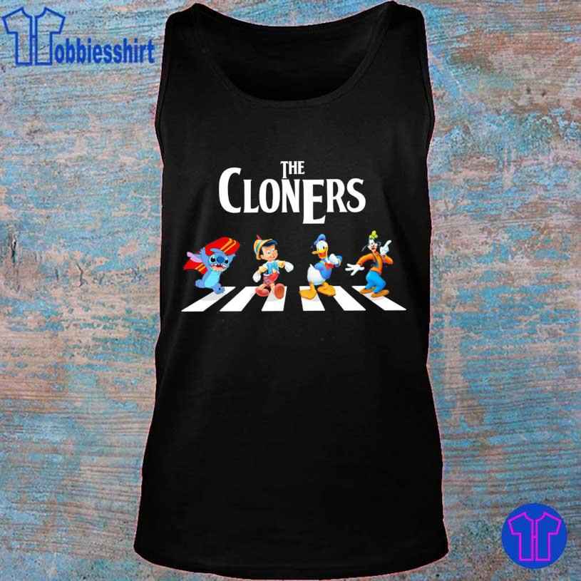 The Cloners Stitch and Disney Abbey Road s tank top