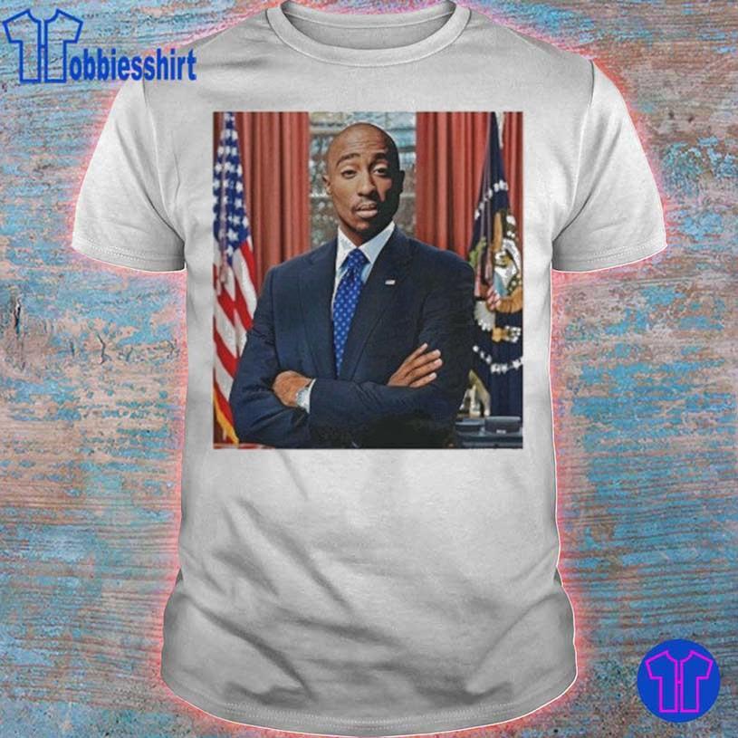 Tupac For President shirt