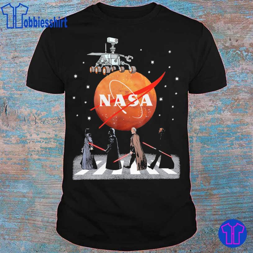 Darth Vader Nasa abbey Road shirt