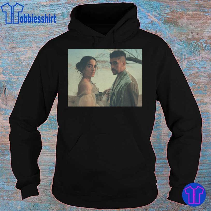 Latino Gang Bad Bunny And Rosalia Shirt hoodie
