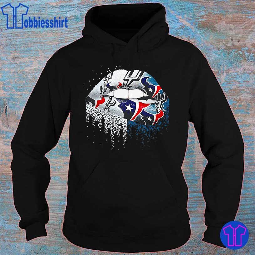 Nfl Houston Texans lips logo hoodie