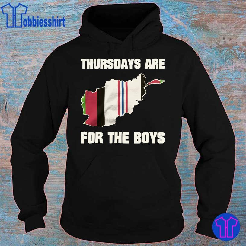 Thursdays are for the boys OEF hoodie
