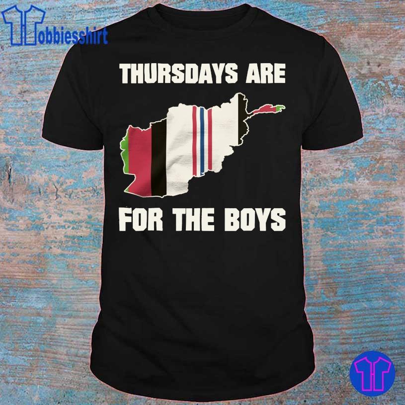 Thursdays are for the boys OEF shirt