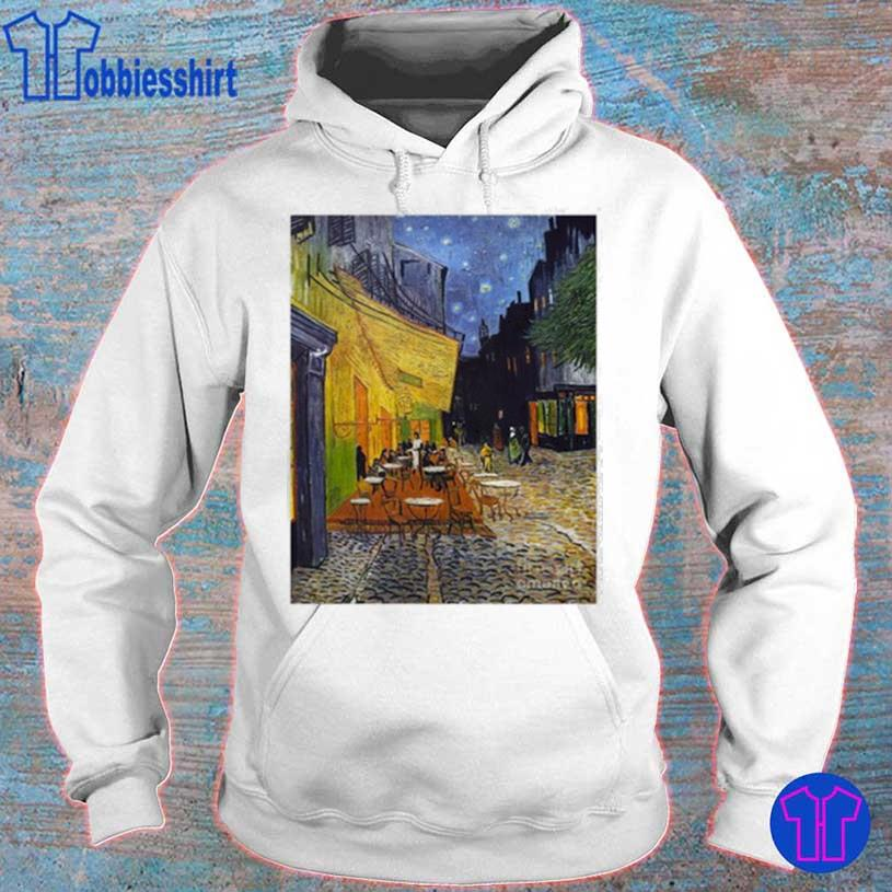 Cafe Terrace At Night City Shirt hoodie