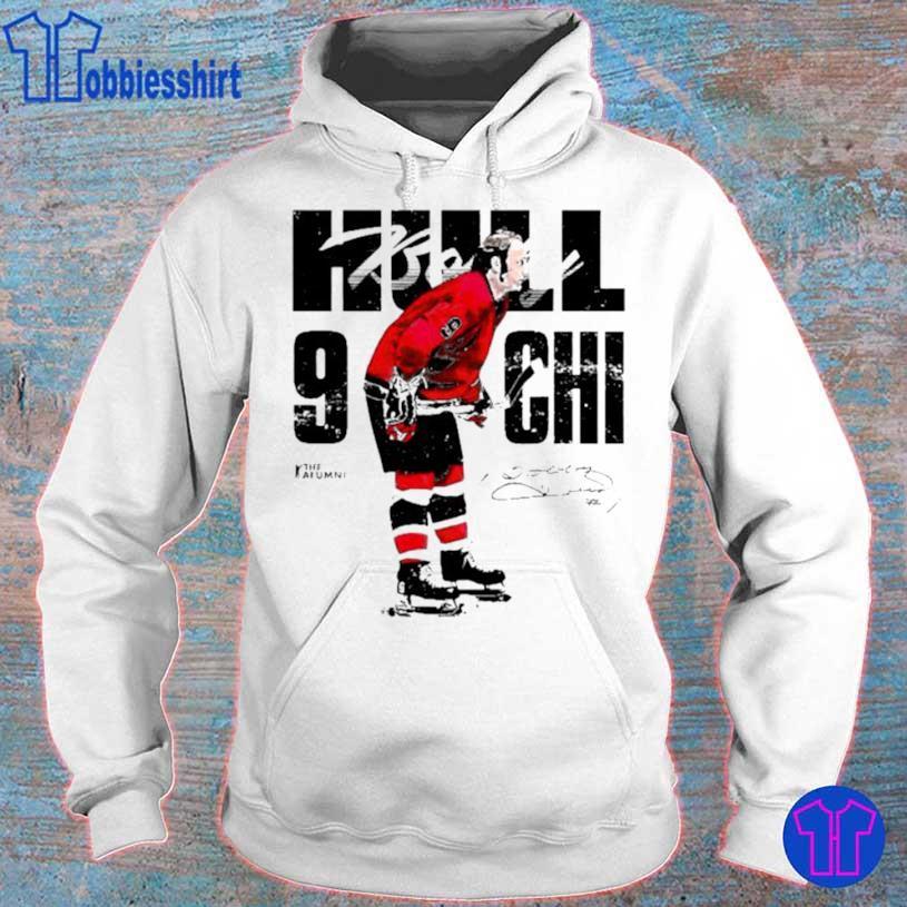 Chicago Bobby Hull #9 Signature Shirt hoodie