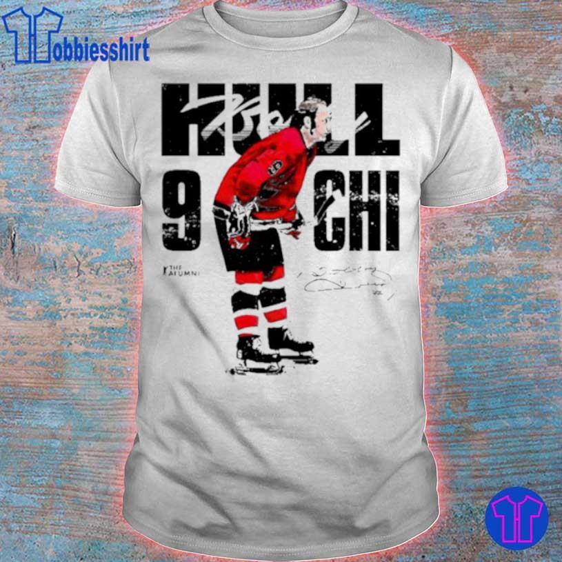 Chicago Bobby Hull #9 Signature Shirt