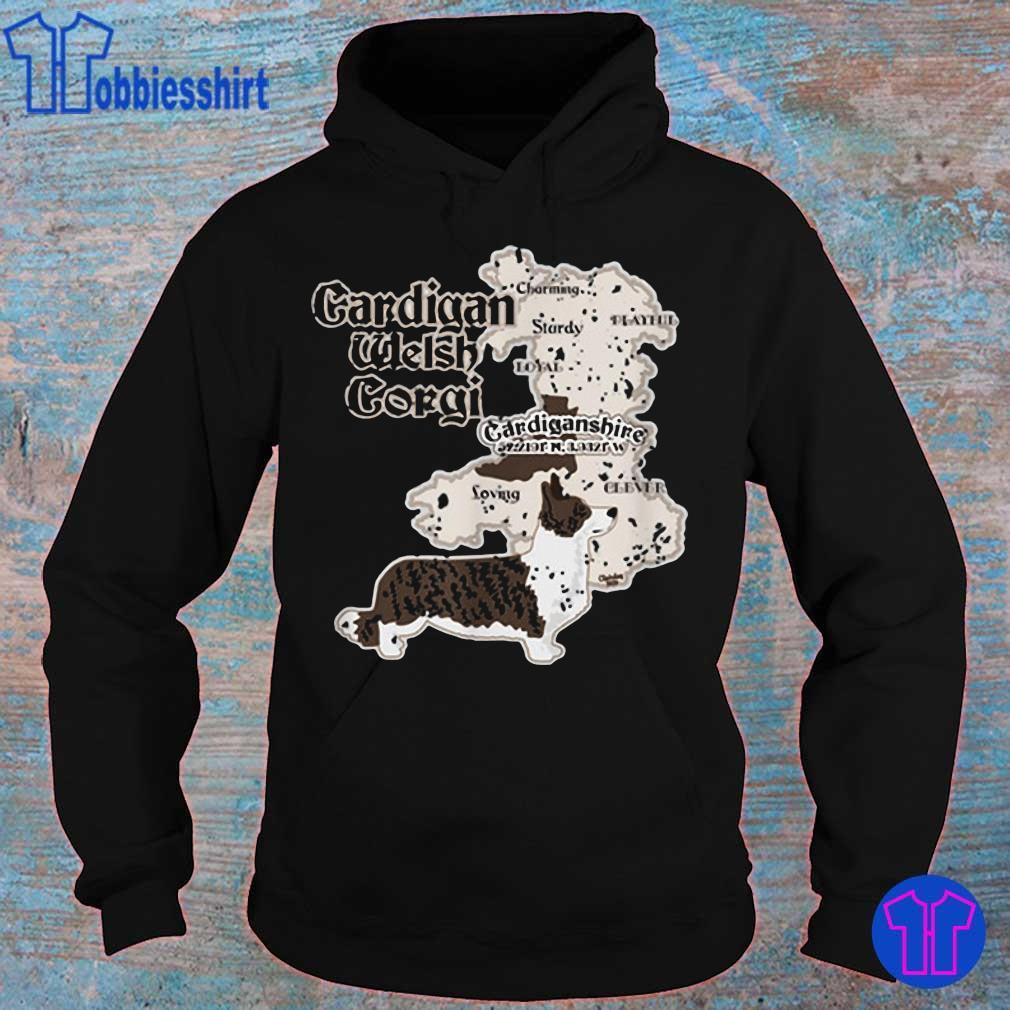 Cardigan Welsh Corgi Cardiganshire Shirt hoodie