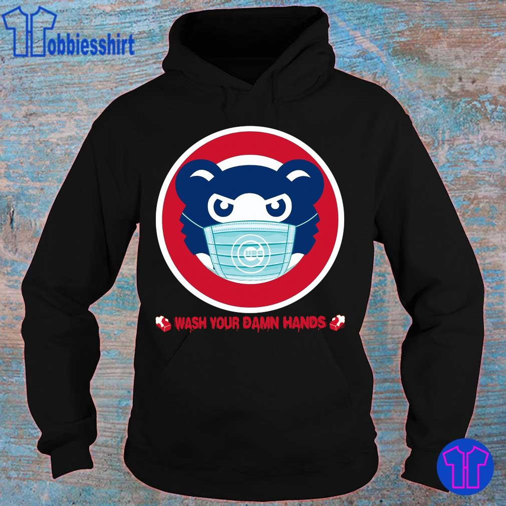 Official Chicago Cubs Wash Your Damn Hands Shirt hoodie