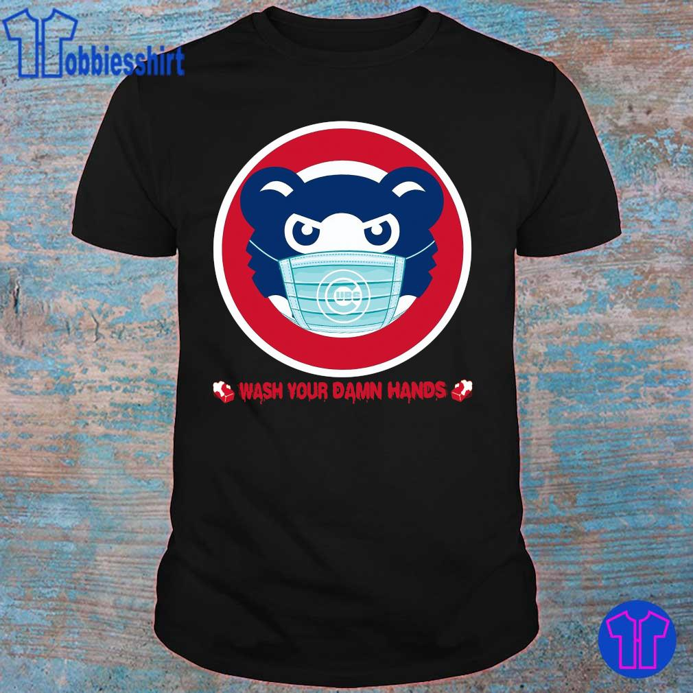 Official Chicago Cubs Wash Your Damn Hands Shirt