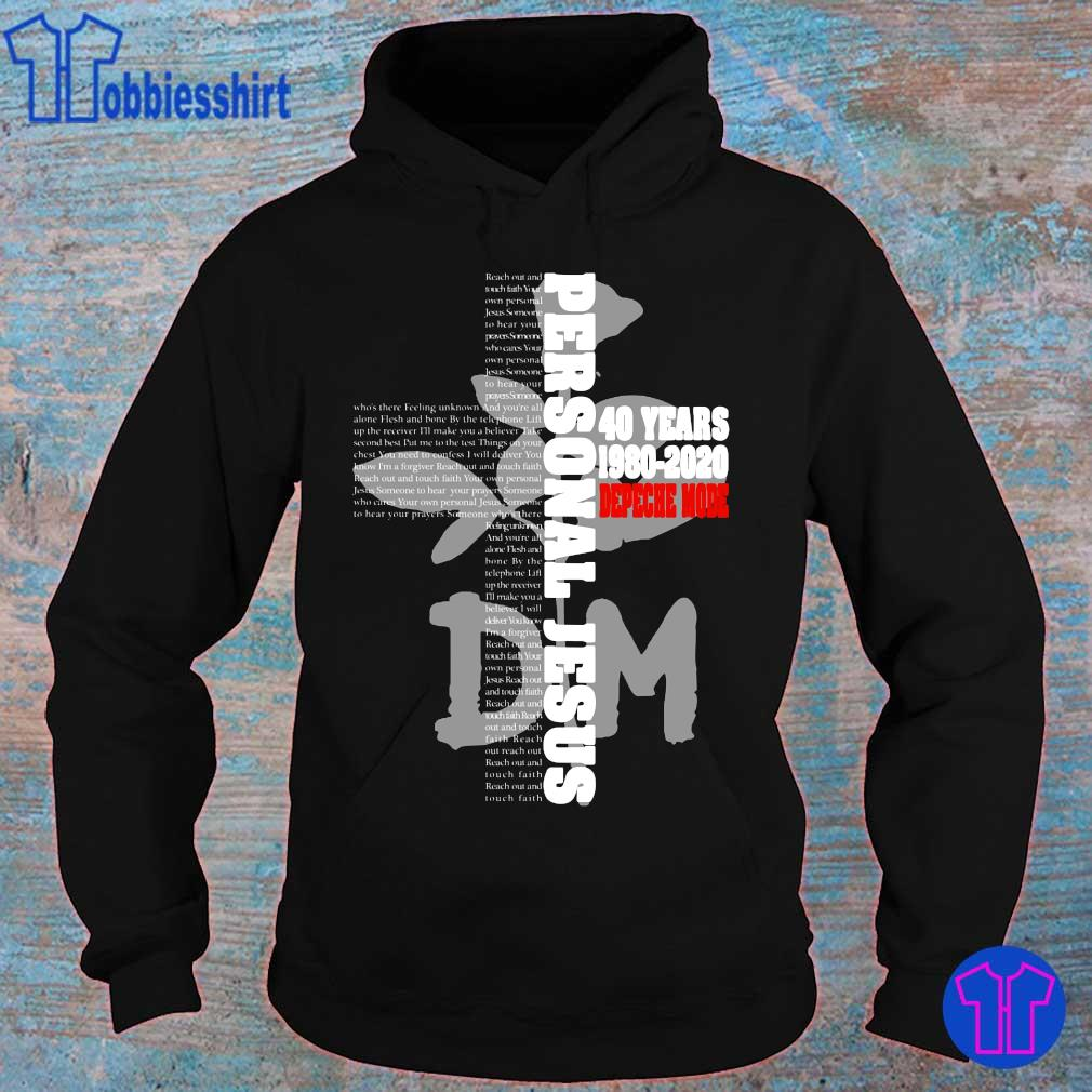 Official Cross Personal Jesus 40 years 1980 2020 Depeche Mode s hoodie