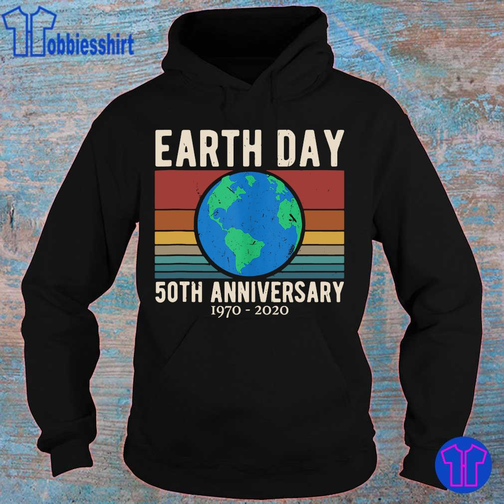 Official earth day 50th anniversary 1970 2020 vintage s hoodie