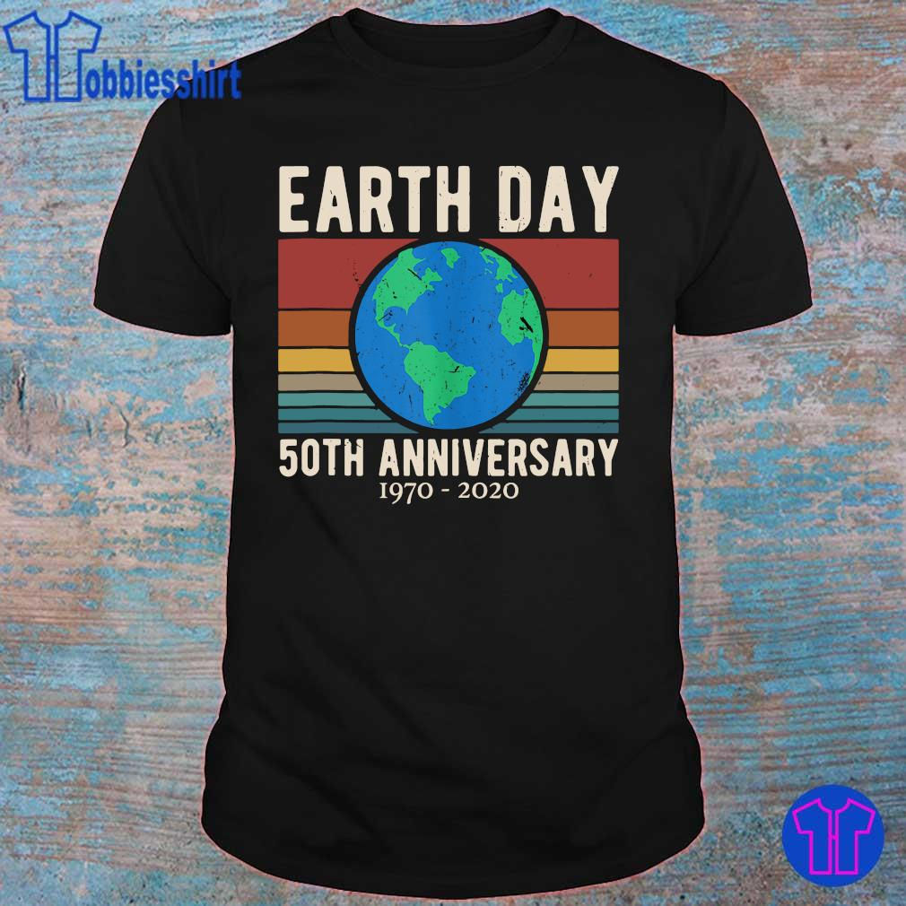 Official earth day 50th anniversary 1970 2020 vintage shirt