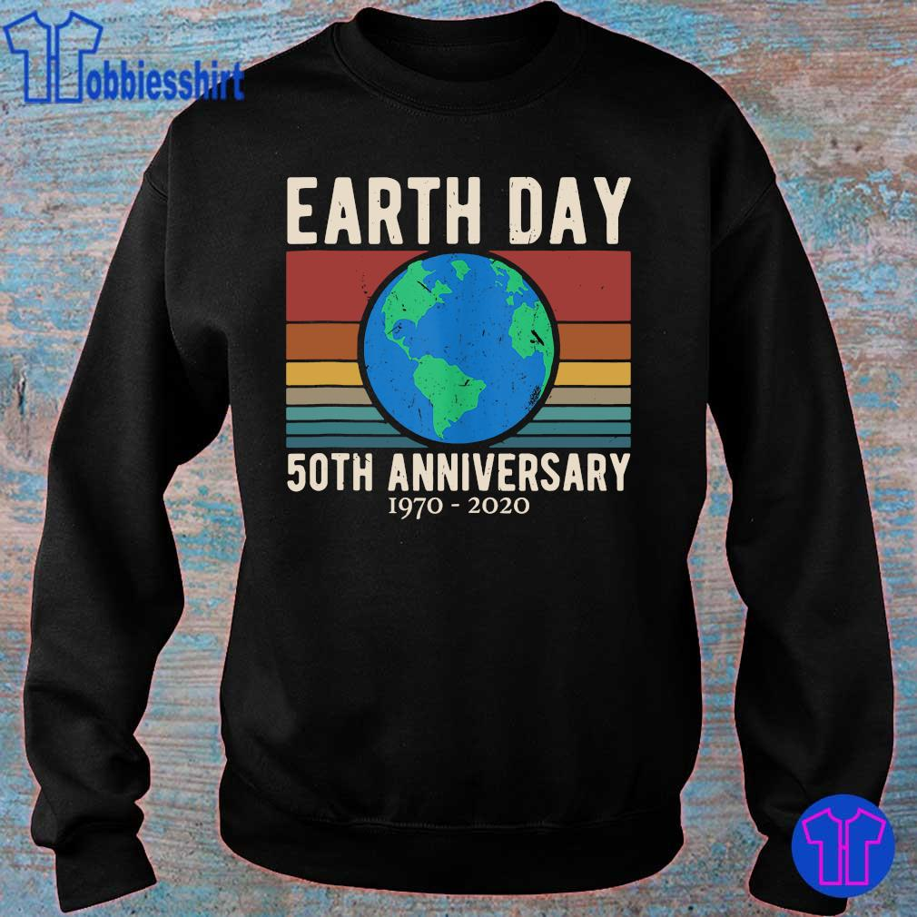 Official earth day 50th anniversary 1970 2020 vintage s sweater