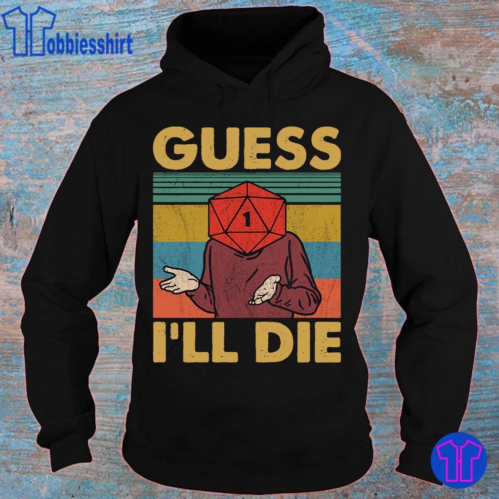 Official Guess i_ll die vintage s hoodie