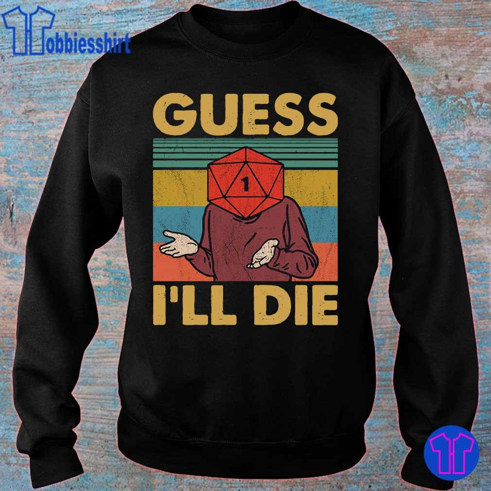 Official Guess i_ll die vintage s sweater