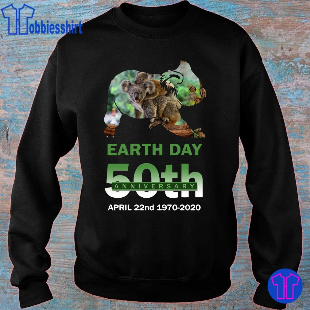 Official Koala earth day 50th anniversary s sweater