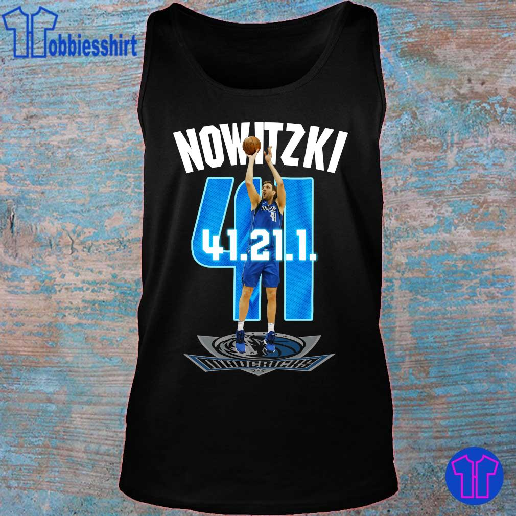 Official Mavericks Dirk Nowitzki 41 21 1 s tank top