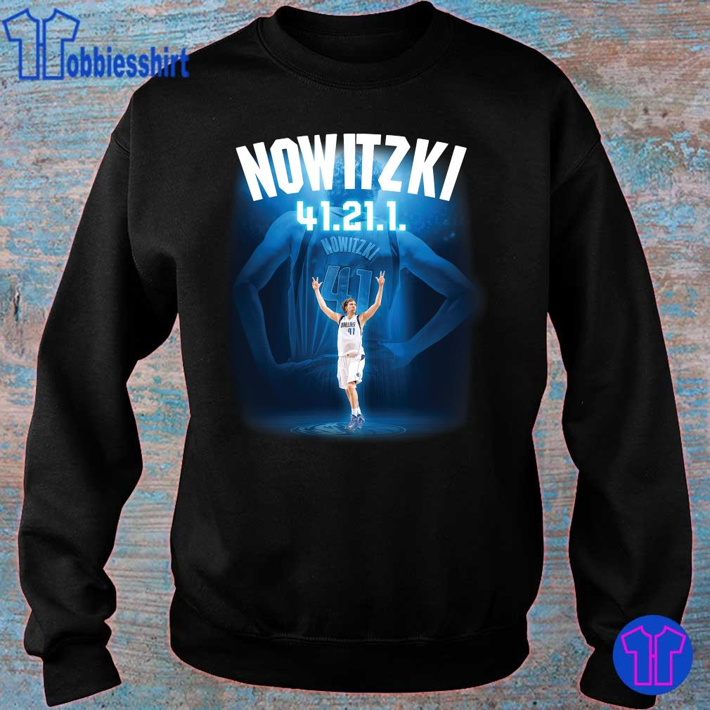 Official Nowitzki 41 21 1 s sweater