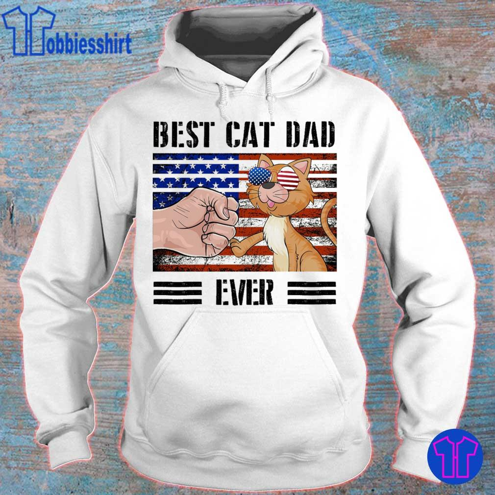 Best cat dad ever american vintage s hoodie