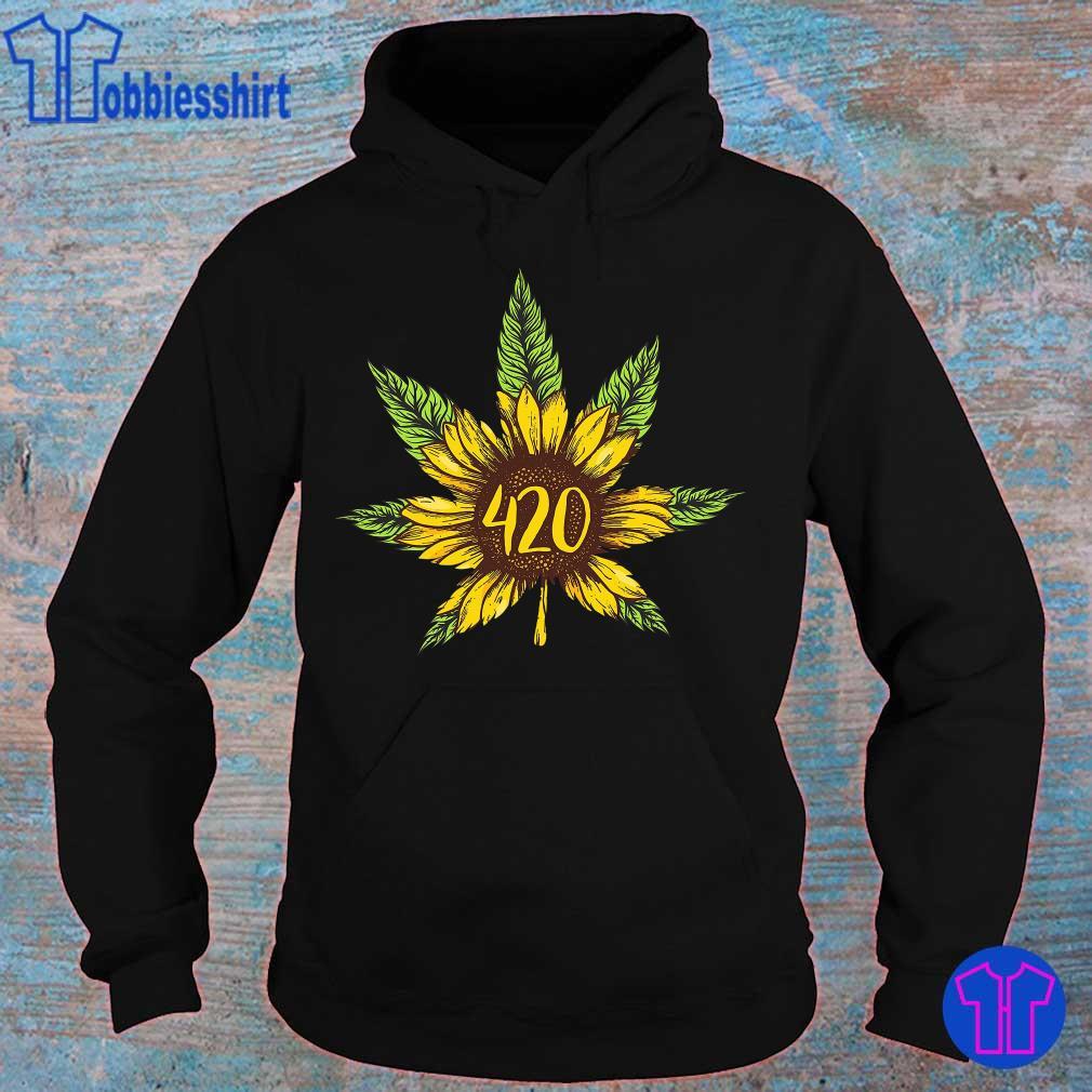 Cannabis 420 Sunflower Hippie s hoodie