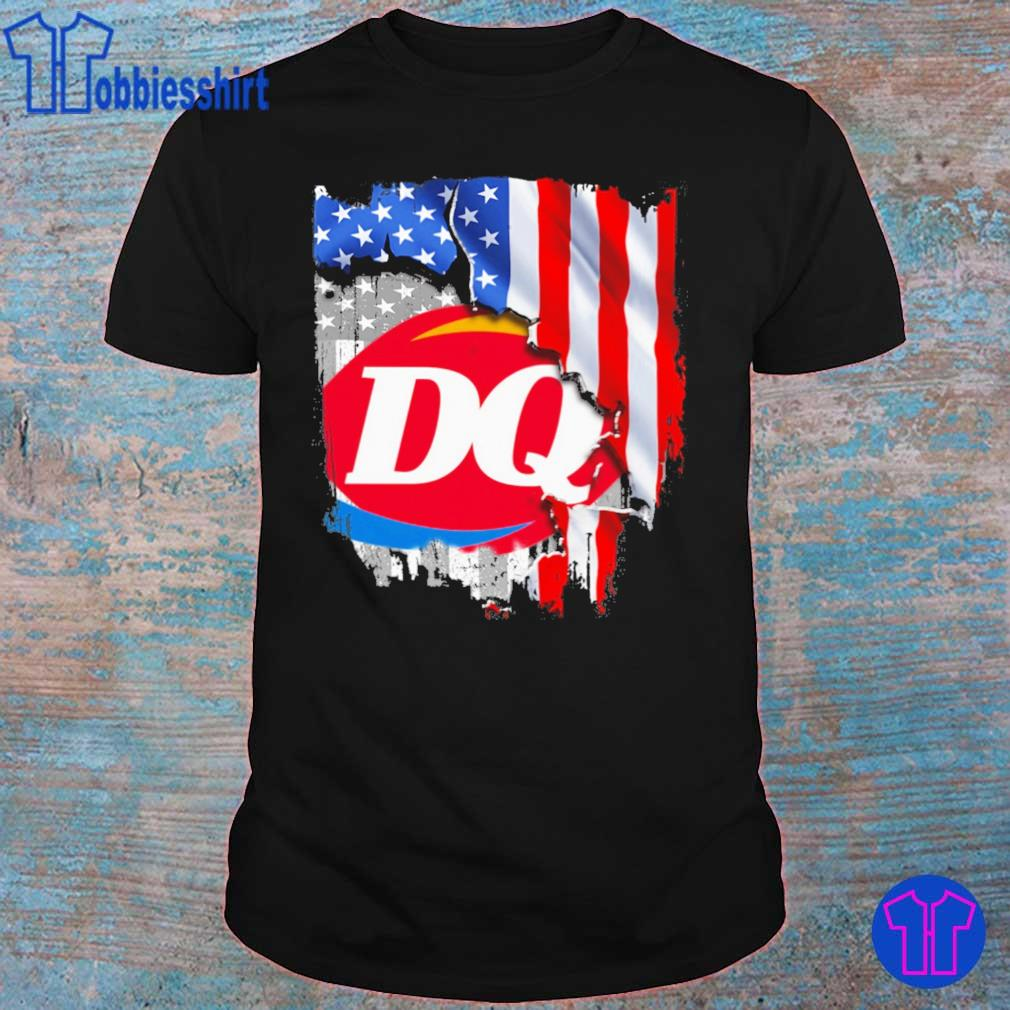 Dairy Queen American flag shirt