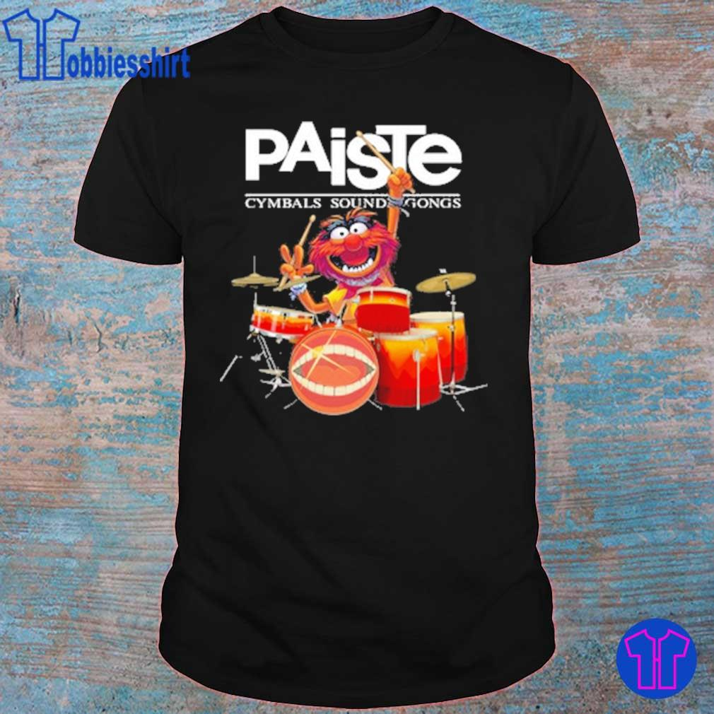 Muppet Drum Paiste Cymbals Sound Gongs Shirt