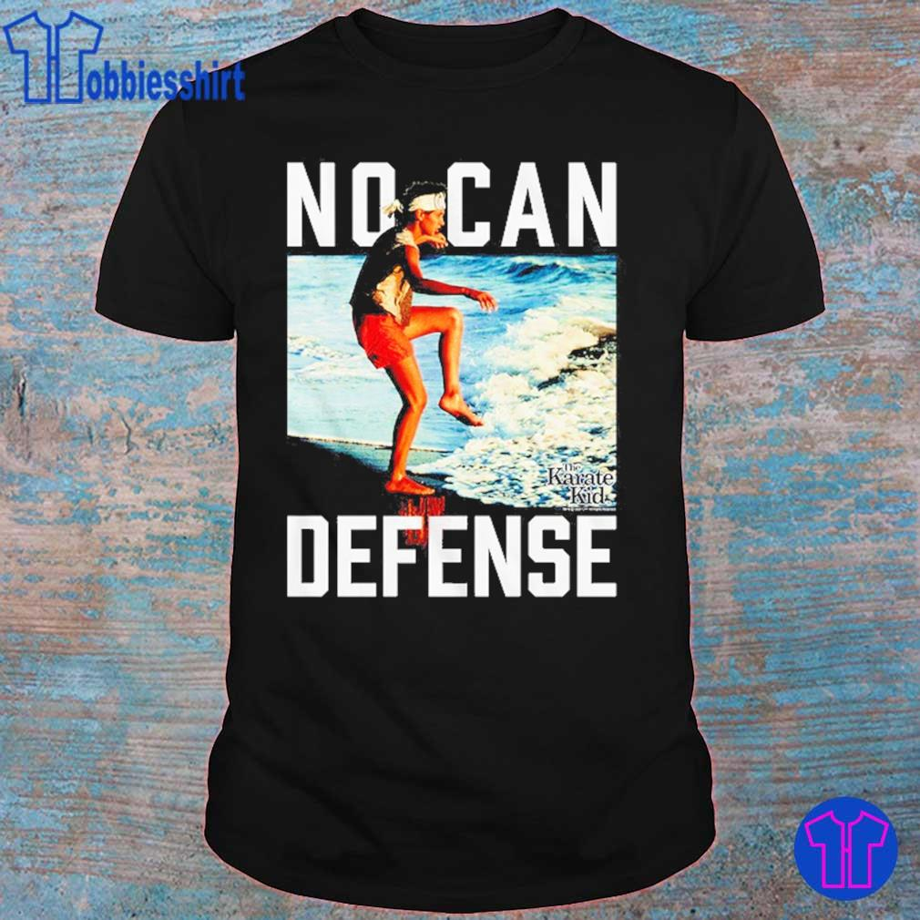 No Can Defense Karate Kid shirt