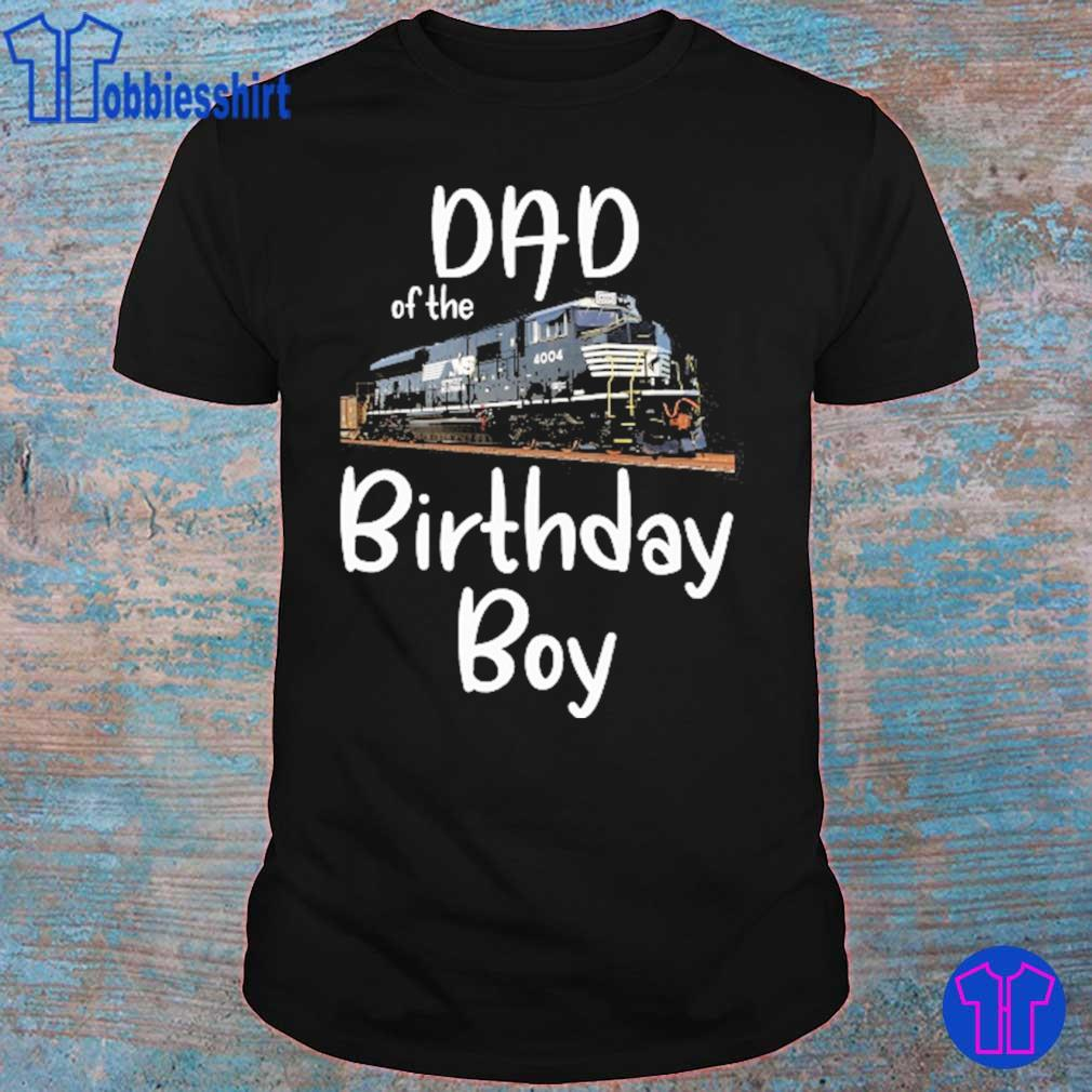 NS 4004 Dad of the birthday boy shirt