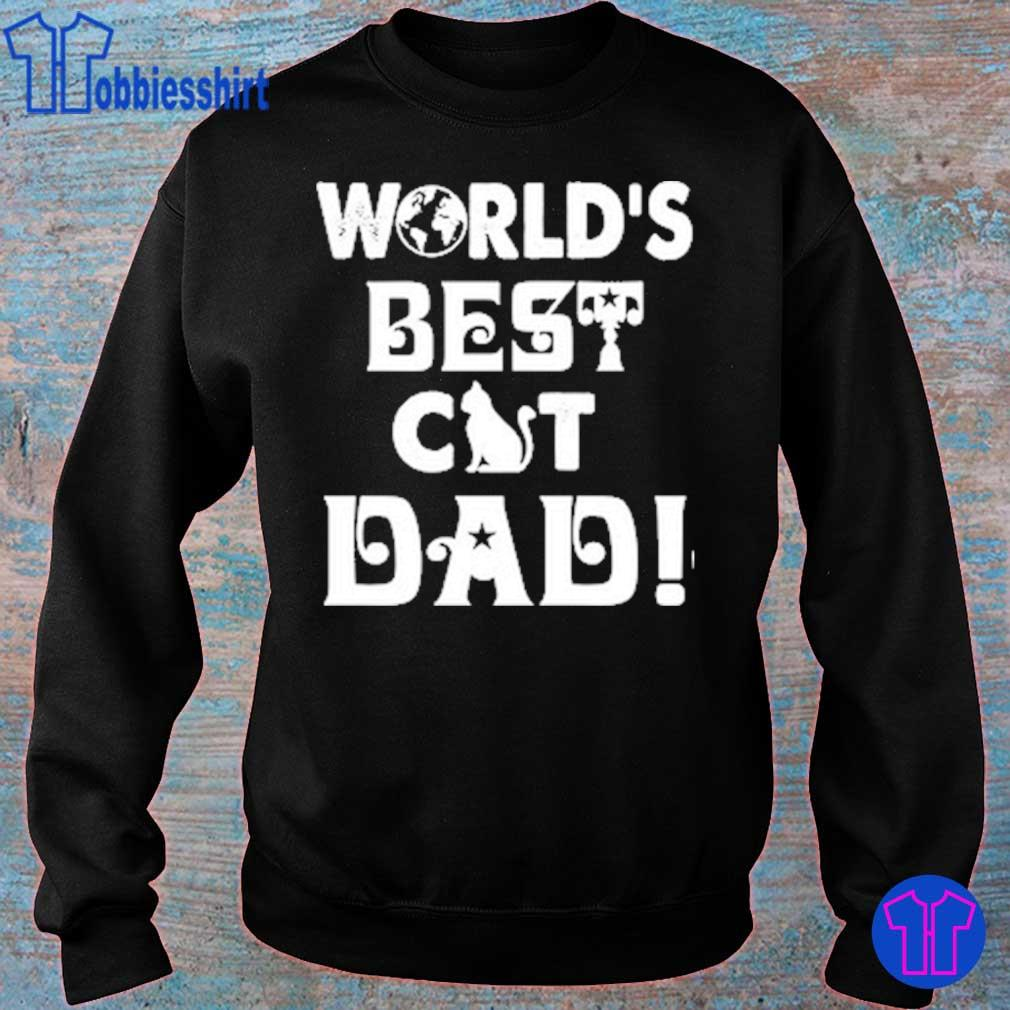 World's Best Cat Dad s sweater
