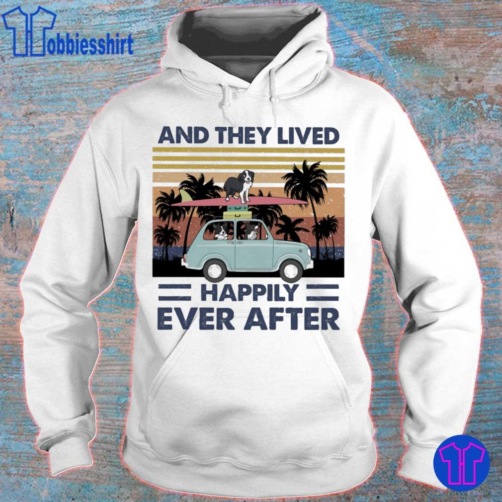 And they lived happily ever after vintage s hoodie
