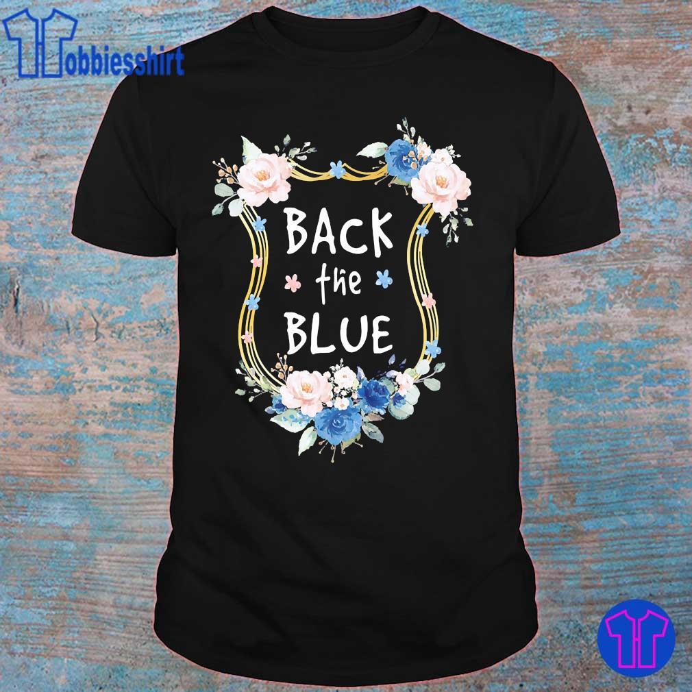 Back the Blue shirt