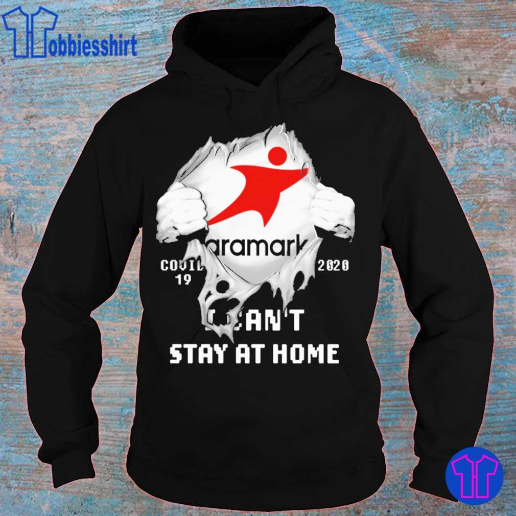 Blood inside me Aramark covid 19 2020 i can't stay at home s hoodie