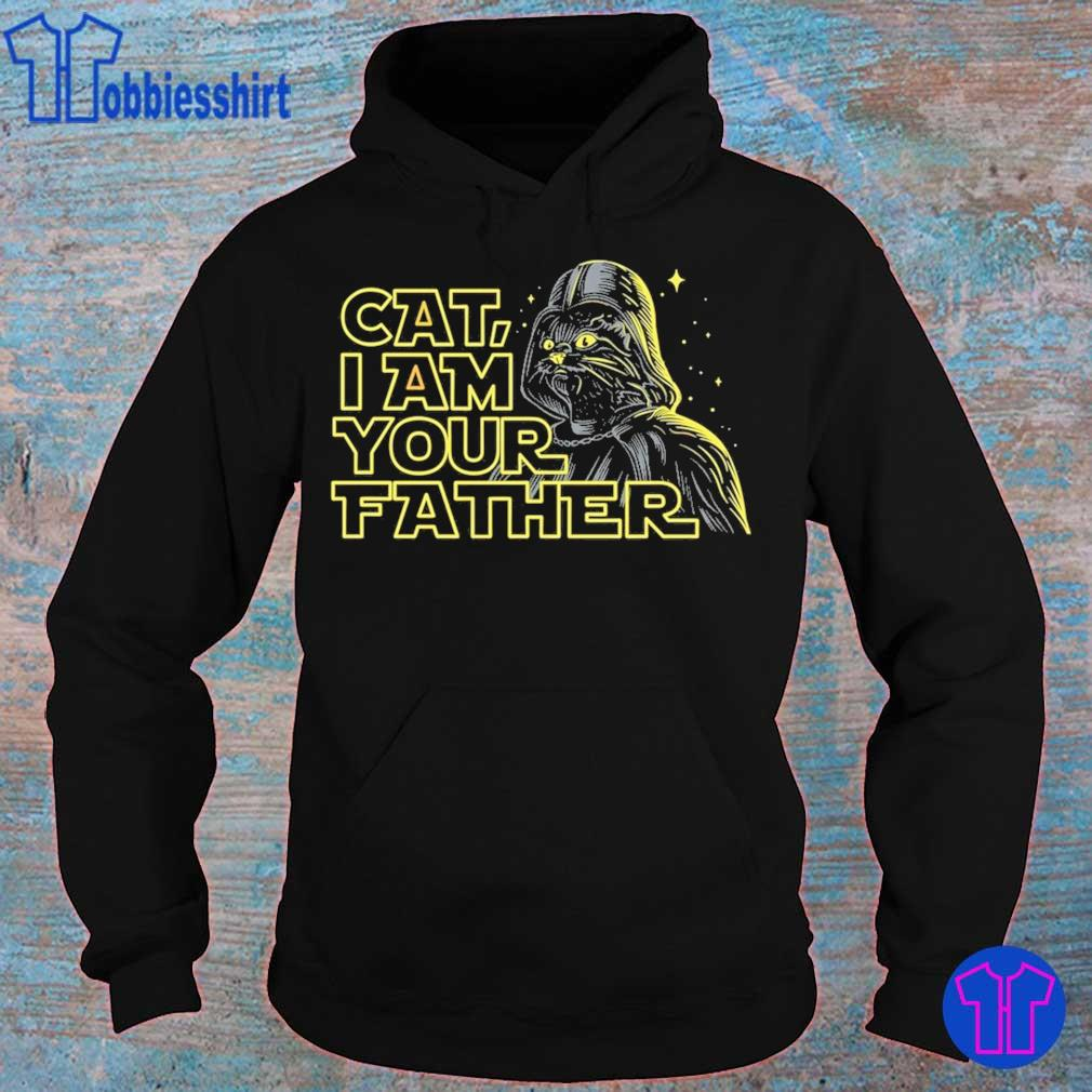 Darth Vader Cat i am your father Star wars s hoodie