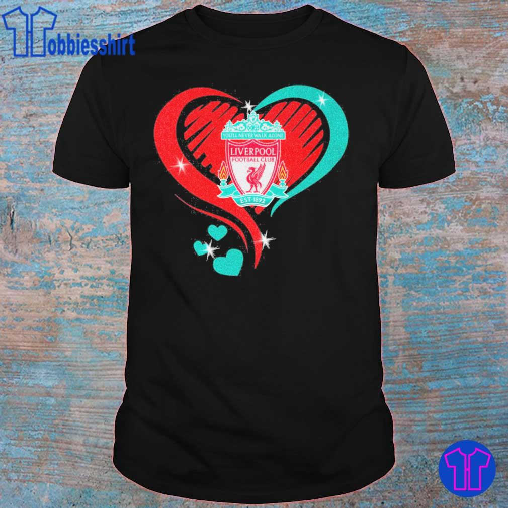 Liverpool Heart diamond shirt