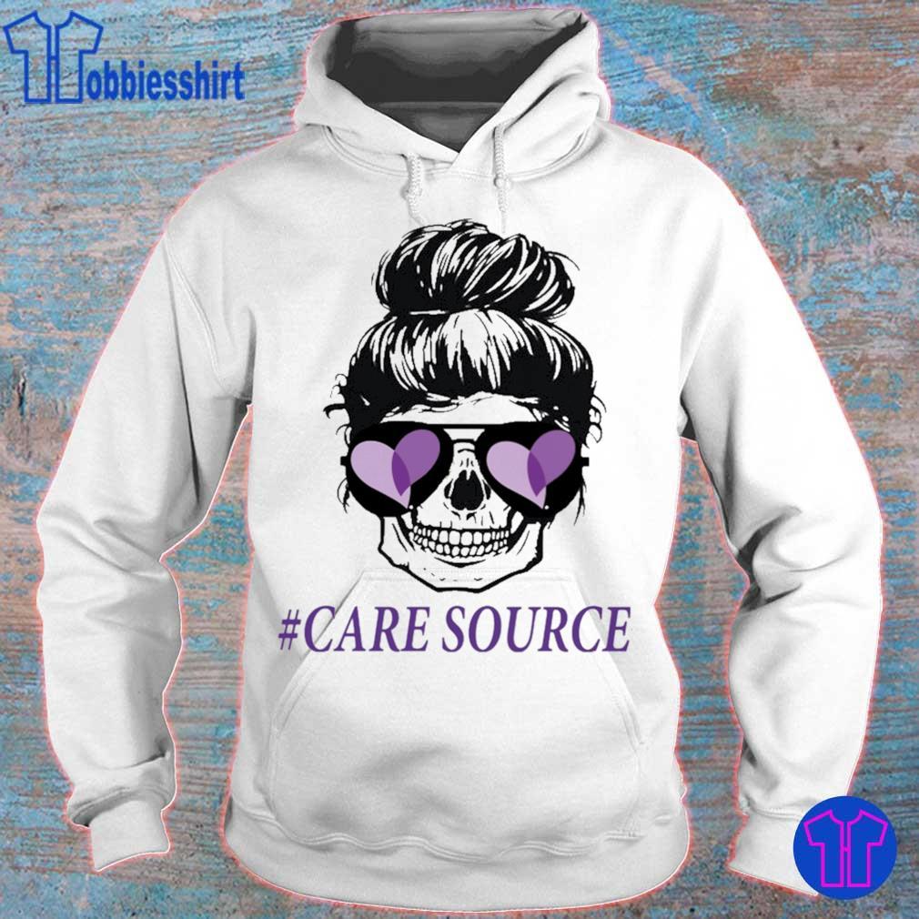 Mom life skull #Care Source s hoodie