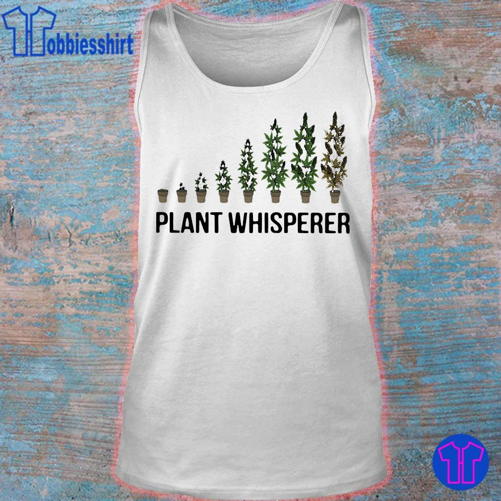 Weed plant whisperer s tank top