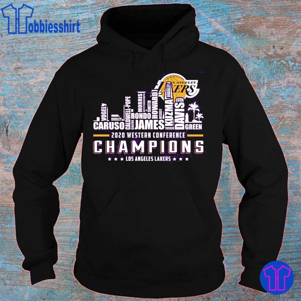 2020 western conference Champions Los angeles Lakers s hoodie