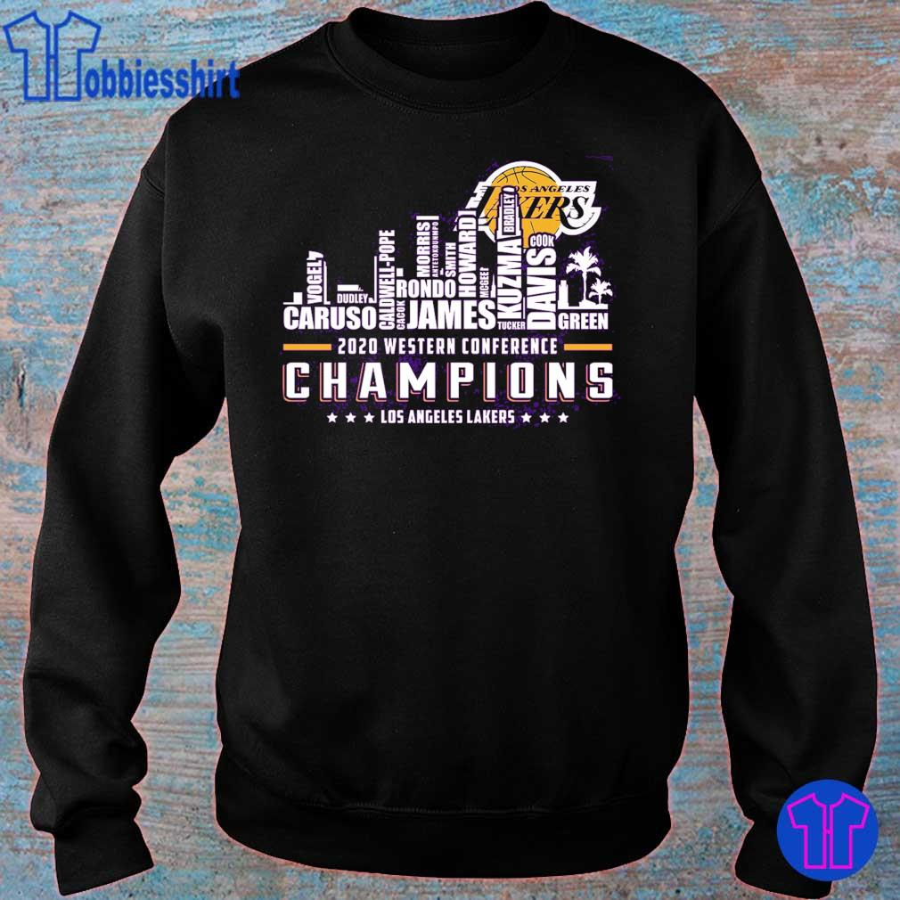 2020 western conference Champions Los angeles Lakers s sweater