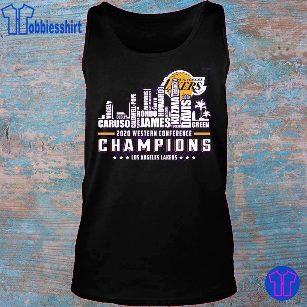 2020 western conference Champions Los angeles Lakers s tank top